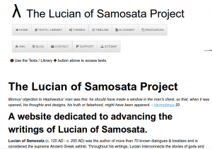 The Lucian of Samosata Project